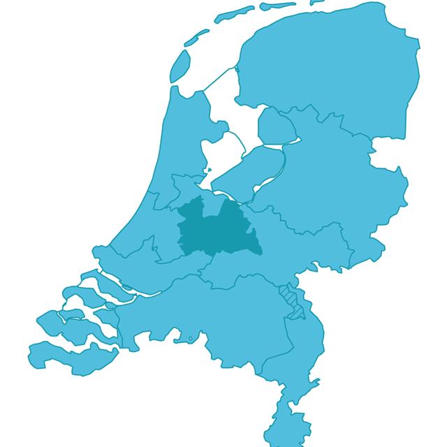 Kaartje-regio-Utrecht-in-NL